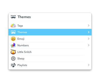 LaunchBar Bright Theme