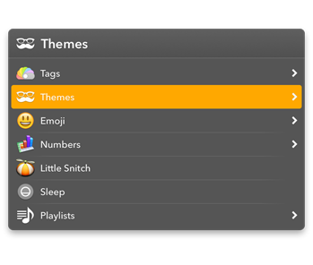 LaunchBar Dark Theme